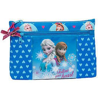 Safta Frozen Portatodo Two Zippers Large (Speelgoed , Schoolzone , Etui)