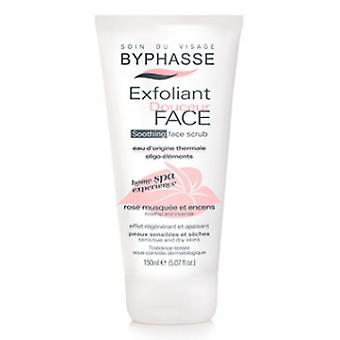 Byphasse Doucer ansiktsscrub 150ml hem Spa-upplevelse (Rosa)