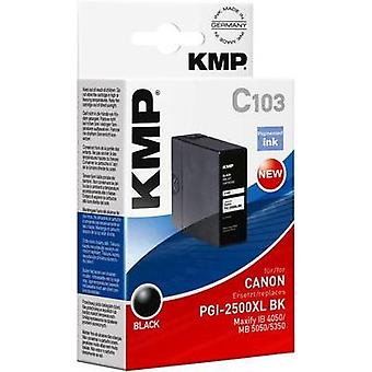 KMP Ink replaced Canon PGI-2500XL BK Compatible B