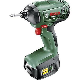 Bosch Home and Garden PDR 18 LI Cordless impact driver 18 V 1.5 Ah Li-ion incl. rechargeables, incl. case