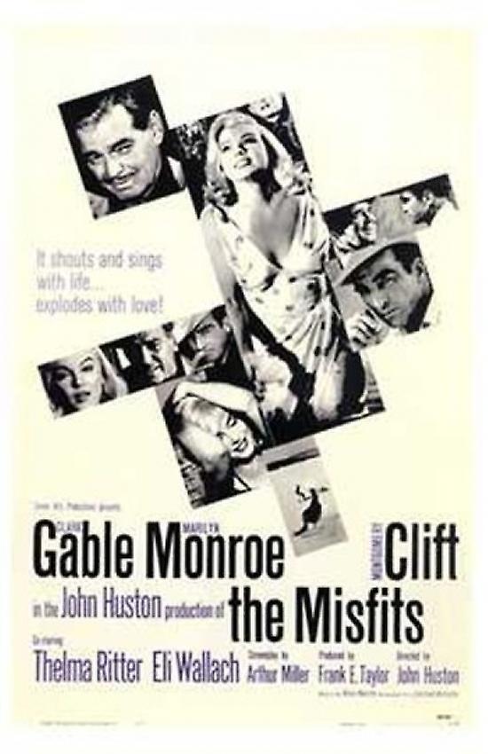 the misfits movie poster 11 x 17 fruugo