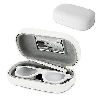 Contact Lens Box weiß
