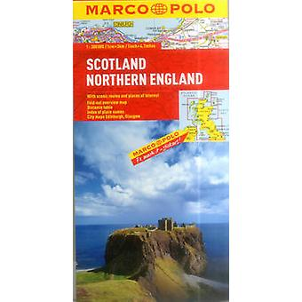 Scotland  Northern England Marco Polo Map by Marco Polo