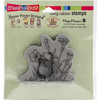 Stampendous House Mouse Cling Stamp 2.25