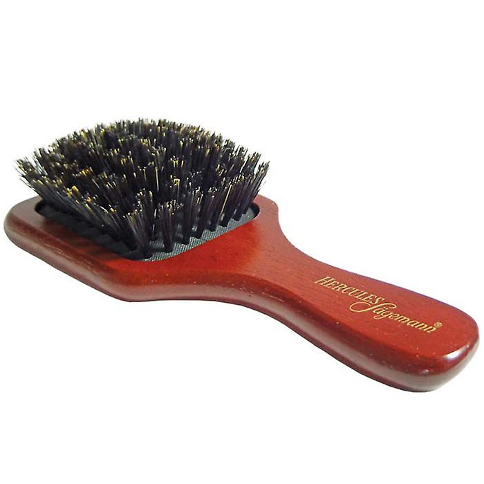 Hercules Pure Boar Bristle Mini Paddle Hair Brush