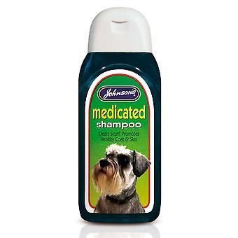 Jvp Dog Medicated Shampoo 200ml (Pack of 6)