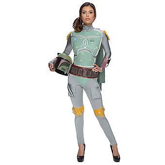 Female Boba Fett Star Wars Movie Licensed Women Costume