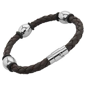 Burgmeister Leather bracelet, JBM4005-765