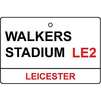 Leicester / Walkers Stadium Street Sign Car Air Freshener