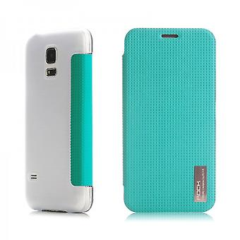Oprindelige ROCK smart cover blå for Samsung Galaxy S5 mini DX G800 G800F A H