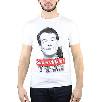 Breaking Bad superskurken mænds hvid T-shirt