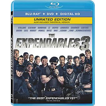 Expendables 3 [BLU-RAY] USA import