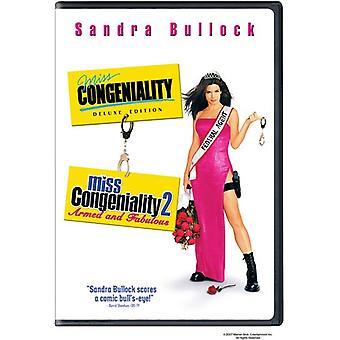 Importación de USA de Miss simpatía/Miss simpatía 2 [DVD]