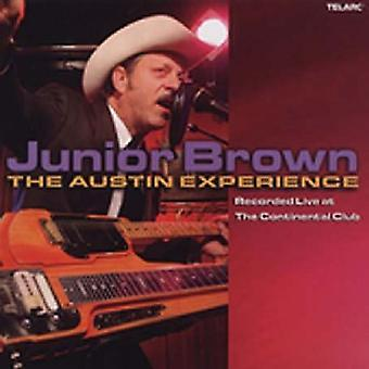 Junior Brown - Live på Continental Club-Austin erfarenhet [CD] USA import