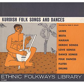 Importer des Kurdes Folk Songs & danses - kurde Folk Songs & USA danses [CD]