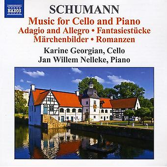 Schumann/Schumann - Schumann: Music for Cello & Piano [CD] USA import