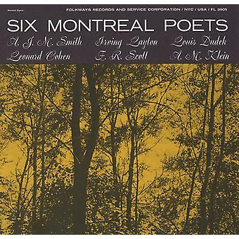 Six poètes Montréal - Six poètes de Montréal [CD] USA import