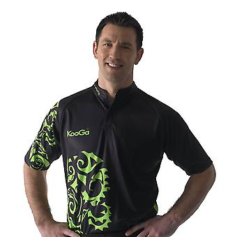 KOOGA tour rugby shirt [black/green]