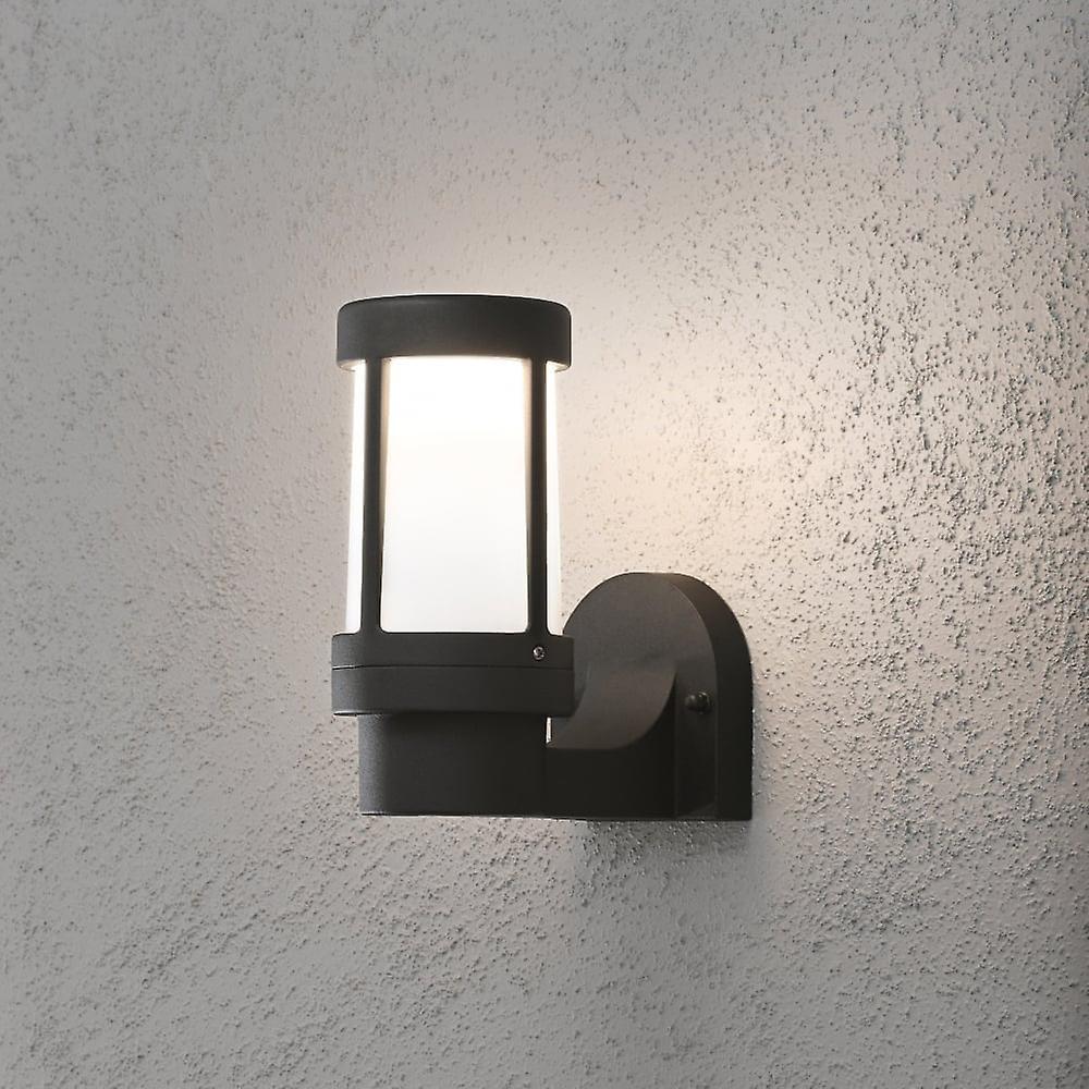 Konstsmide Siena Black Exterior Wall Light