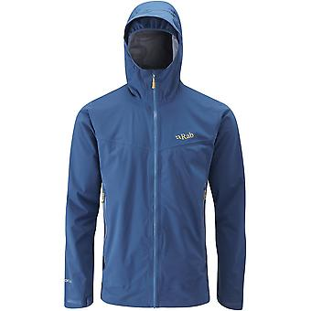 Rab Mens Kinetic Plus Jacket Ink (Medium)