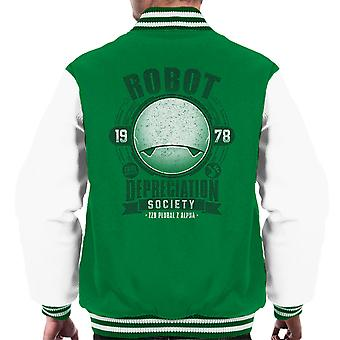 Robot afskrivning samfund blaffere Guide mænds Varsity jakke