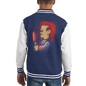 vuole Varsity Jacket giocare Chucky Childs giocare capretto