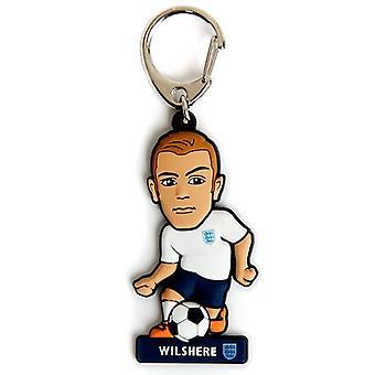 England FA PVC nøkkelring Wilshere