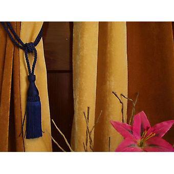 Paar - blau dekorative handgefertigte Raffhalter / Tassel / Vorhang Holdback