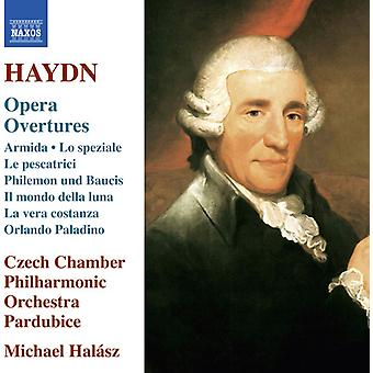 Haydn / tjeckiska Chamber Philharmonic Orchestra - Opera ouvertyrer [CD] USA import