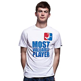 Most Valuable Player T-Shirt // White 100% cotton