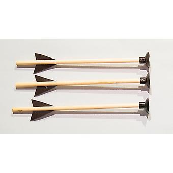 Spare arrows 3 Pack 18 cm long