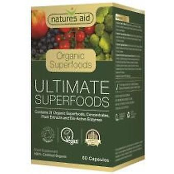 Natures Aid Ultimate Superfoods (Organic) 60 caps