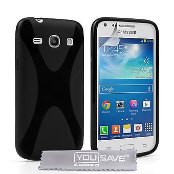 Samsung Galaxy Core Plus Gel X-Line Silikonhülle - schwarz