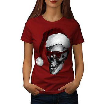 Swag Santa Claus Fashion Women RedT-shirt | Wellcoda