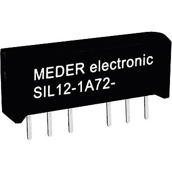 Reed relay 1 maker 5 Vdc 0.5 A 10 W SIL 4