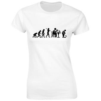 Fast Food Evo Evolution Womens T-Shirt 8 Colours (8-20) by swagwear