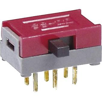 Slide switch 30 Vdc 0.1 A 1 x On/On NKK Switches S