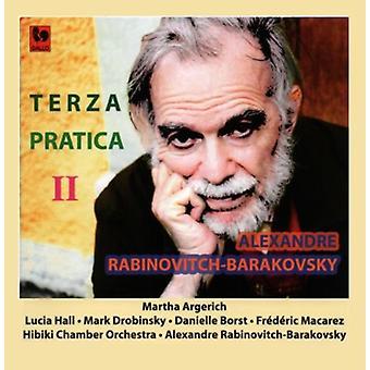 Alexandre Rabinovitch Barakovsky - Terza Pratica II [CD] USA import
