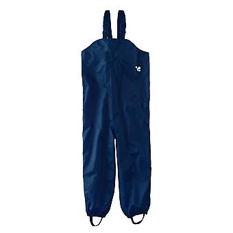 Childrens Waterproof Dungarees - Navy Protective kids overalls rainwear Snow