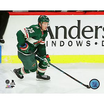 Jonas Brodin 2017-18 Action Photo Print