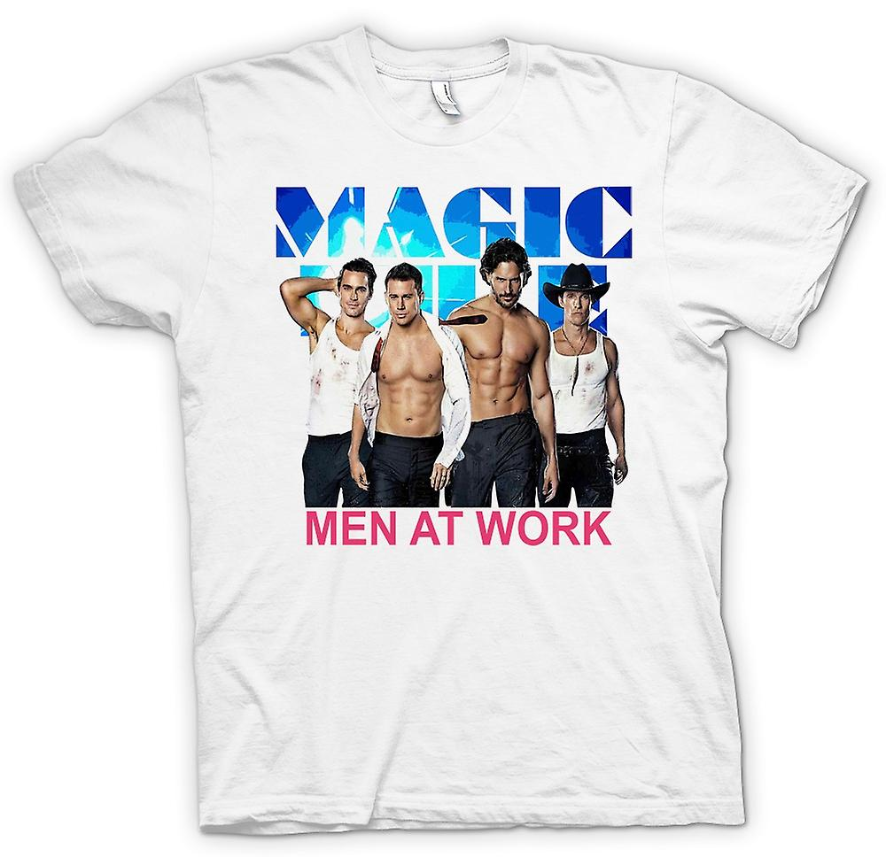 Womens T-shirt - Magic Mike - Men At Work