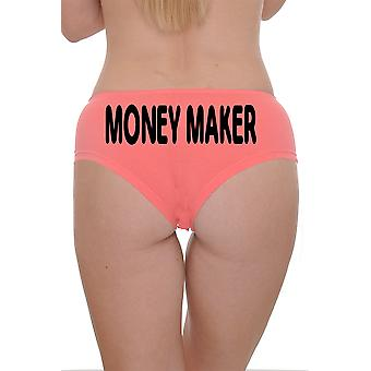 Damen Booty Boy Shorts Money Maker