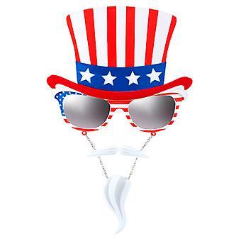 Uncle Sam glasögon