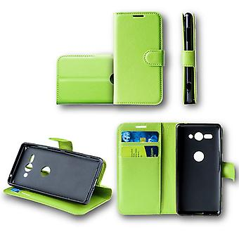 Для Nokia 6 2018 карман бумажник премиум зеленый Schutz рукавом чехол сумка новые аксессуары