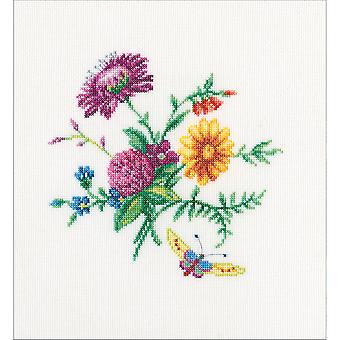 Bunch With Clover Counted Cross Stitch Kit-6.25