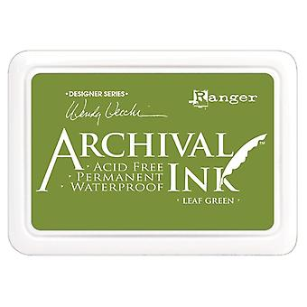 Wendy Vecchi Designer Series Archival Ink Pad-Leaf Green