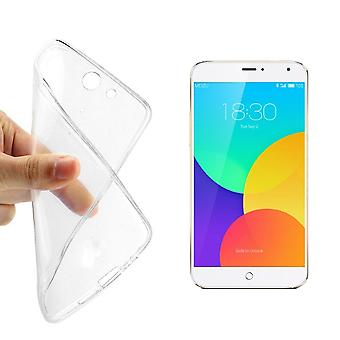 Meizu MX4 transparent case cover silicone