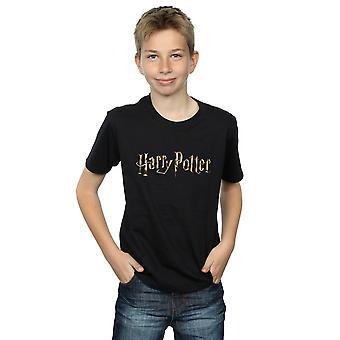 Harry Potter jungen farbigen Logo T-Shirt