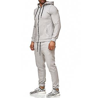 L.A.B 1928 men's tracksuit sport suit grey
