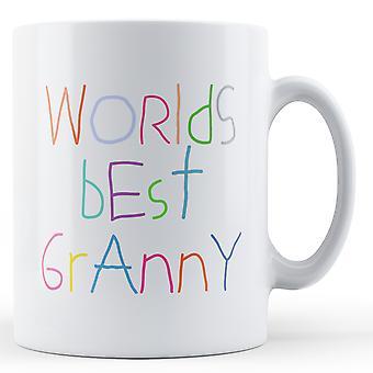 Verdens beste Granny - trykte krus
